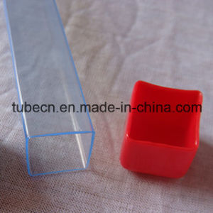 Transparent PVC Pipe with Soft Cap for Packaging pictures & photos