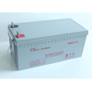 Lead Acid Deep Cycle Solar Gel Battery Price 12V200ah pictures & photos