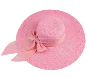 Wholesale Beautiful Lady Straw Hat, Summer Sports Baseball Cap pictures & photos