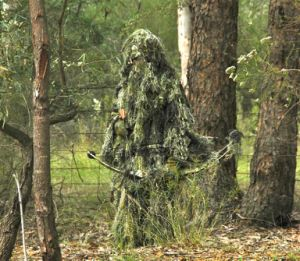 Camo Ghillie Yowie Sniper Tactical Camouflage Suit 4 Hunting Paintball Ghillie Suit