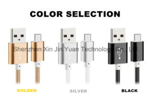 Nylon Insulated 8 Pin Lightning USB Cable for iPhone 6 6plus 5 5s 4 4s pictures & photos