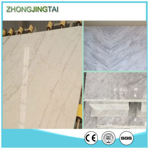 Cream Color Compressed Marble Wall Cladding Artificial Stone pictures & photos