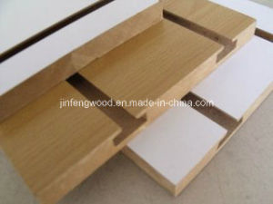 Slot Melamine MDF for Supermarket pictures & photos
