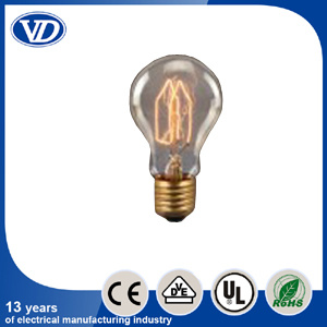 Antique Vintage Carbon Filament Edison Bulb A19