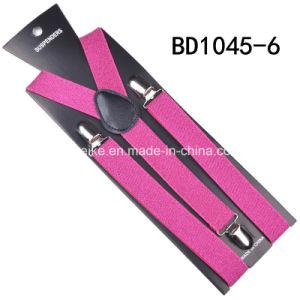 Unisex Fashion Suspenders Shiny Braces 2.5*100cm pictures & photos