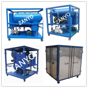 Newly Technology Multi-Functional Hydraulic Oil Filtering Machine pictures & photos