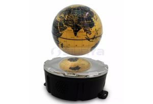 Wireless Bluetooth Globe Maglev Speaker with LED Light MP3 Support TF Card Aux Play pictures & photos