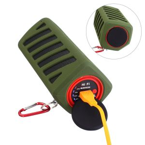 Outdoor Waterproof Bluetooth Speaker with Power Bank