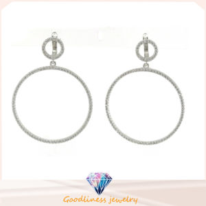 925 Sterling Silver Jewellery and Fashion Round Earrings (E6293) pictures & photos
