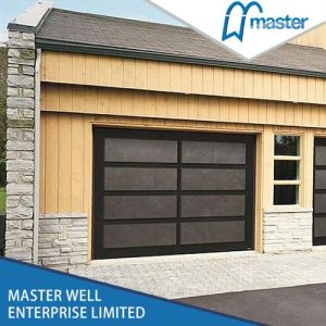 Brown Aluminium Door Frame Price Garage Doors pictures & photos