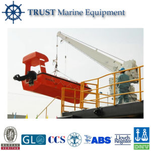 Single Arm Slewing Rescue Boat Crane Davit pictures & photos