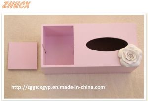 Decoration Box Wooden Tissue Box Napkin Box Painted Beautiful Box pictures & photos