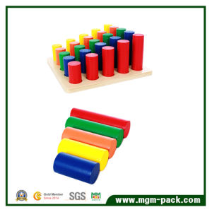 2016 New and Popular Colorful Kids Wooden Montessori Block pictures & photos