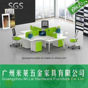 Modern Modular Office Furniture Workstation with Moving Cabinet pictures & photos