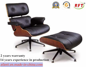 Modern Furniture Wooden Leather Eames Leisure Lounge Chair (RFT-F5D) pictures & photos