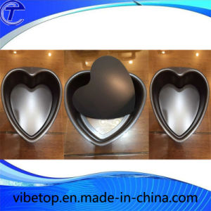 Heart-Shaped Steel Cake Baking Pan Cm-51 pictures & photos