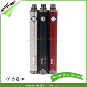 Best E Cig Battery Evod Twist Battery Wholesale pictures & photos