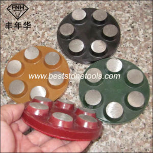 CD-44 Metal Bond Round Diamond Grinding Segment with Hook & Loop pictures & photos