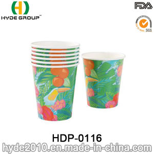 Disposable Cold Drinking Tableware Paper Cup Hawaii Style pictures & photos