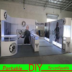 DIY Versatile Portable&Reusable Aluminum Fabric Exhibition Booth pictures & photos