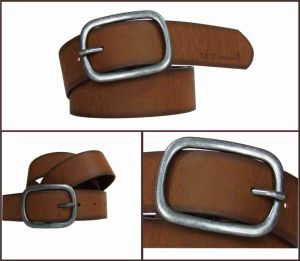 Brown Fashion Casual Men′s PU Belt pictures & photos
