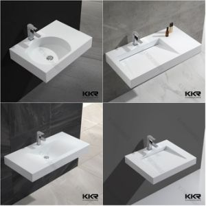 Sanitary Ware Resin Stone Bathroom Basin for Hotel pictures & photos