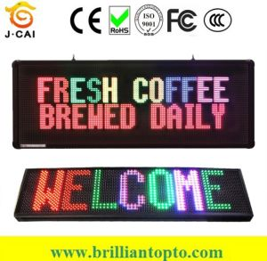 P10 Outdoor Monochrome LED Display Panel pictures & photos