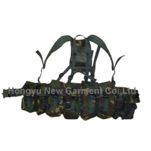 Ak Magazine Chest Rig Carry Tactical Bellyband Vest pictures & photos