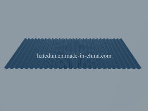 Aluminum Alloy Corrugated Sheet for Facades (Silver grey7001) pictures & photos