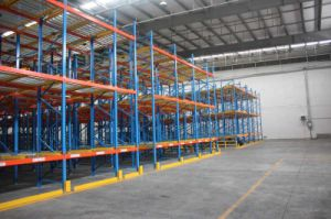 Steel Gravity Rack for Warehouse Storage pictures & photos