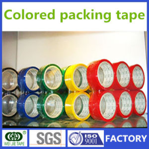 Hot Sell Strong Adhesive Carton Sealing Tape /Colored BOPP Packing Tape pictures & photos
