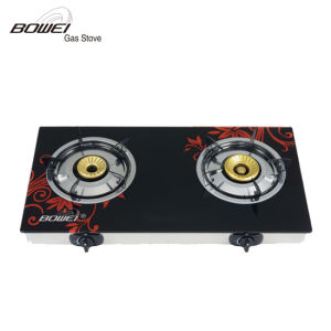 Popular Model Tempered Glass Energy Saving Gas Stove Price