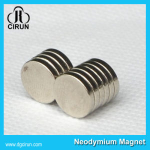 Wholesale Price Permanent Rare Earth Disc Magnets pictures & photos