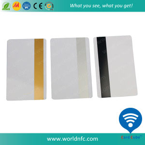 Cr80 Contactless Plastic Magnetic Stripe Card with 125kHz Smart Chip pictures & photos