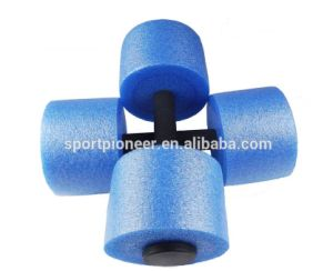 EPE Water Barbell Aquatic Heavy Buoy Barbell Swimming Running Dumbbell