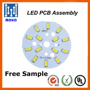 7W Round 2835 SMD LED PCB for Bulbs and Downlight