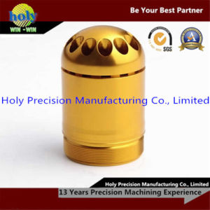 Yellow CNC Machined Aluminum Waterproof Pill Container Box pictures & photos