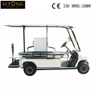 2 Passenger Electric Ambulance Car for Sale pictures & photos