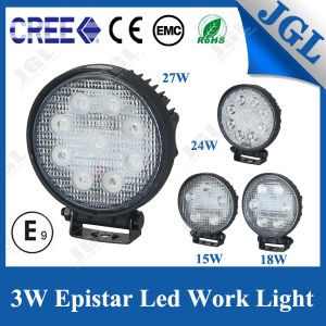 12V/24V 27W LED Work Light for Car Truck 4WD 4X4 pictures & photos
