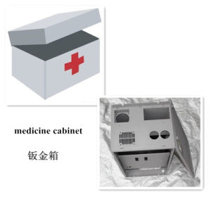 High Precision CNC Machining Sheet Metal Medicine Cabinet (GL018) pictures & photos