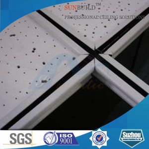 Acoustic Mineral Fiber False Ceiling (595*595, 595*1195, 603*603, 603*1212mm) pictures & photos