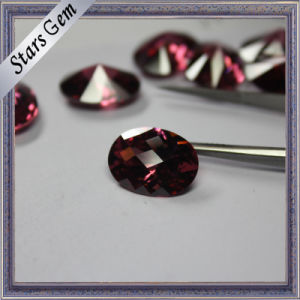 Rare Special Rhodorite Color Jewelry Findings CZ Stone pictures & photos