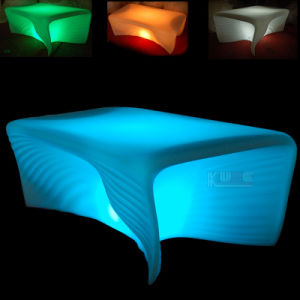 Illuminated Outdoor Bar Table and Chair pictures & photos