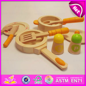Role Play Wooden Kitchen Set Kids Cooking Play Set Toys, Wooden Funny Cooking Play Set Toys for Wholesale W10b130 pictures & photos
