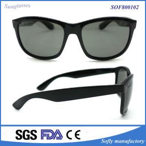 Black Prescription Super Clear Sunglasses with Polarized Lens pictures & photos
