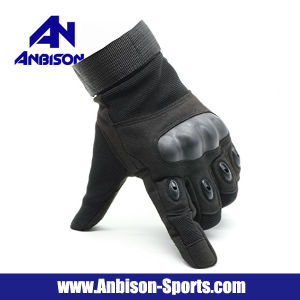 Airsoft Tactical Combat Army Full Finger Gloves pictures & photos