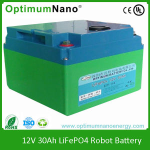 Lithium Battery 12V30ah for Smart Vacuum Cleaner pictures & photos