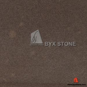 Brown Lagos Crystal Quartz Slab for Countertop, Tile pictures & photos