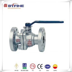 GOST Standard Flange Connection Trunnion Mounted Ball Valve pictures & photos
