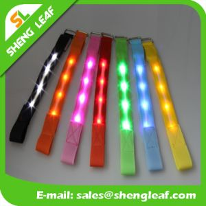 LED Bracelet Wristband Light up LED Flashing Bracelets pictures & photos